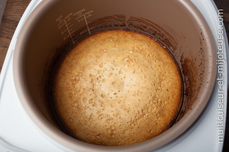 Gâteau à l'ananas au Multicuiseur