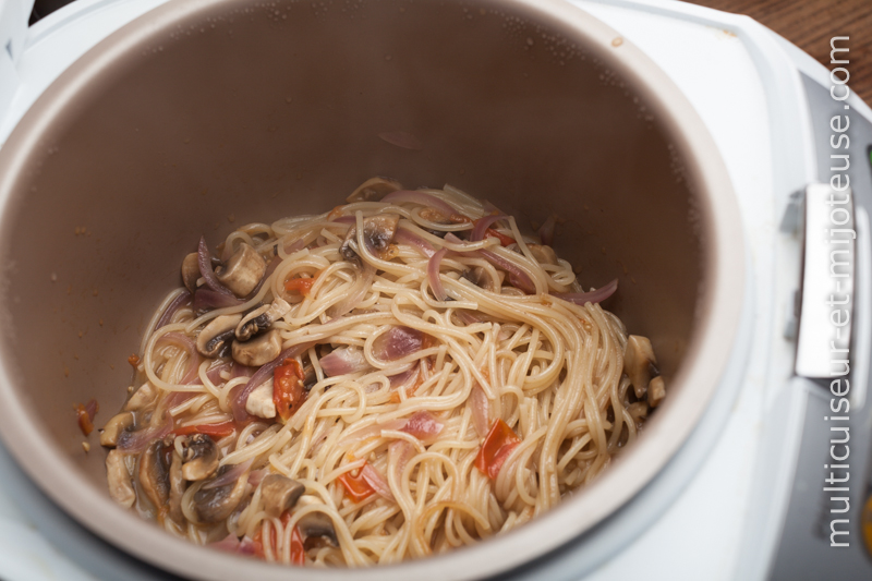 One-Pot Pasta : Spaghettis au multicuiseur