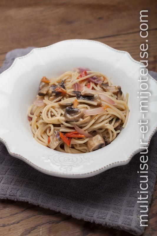 Spaghettis au multicuiseur