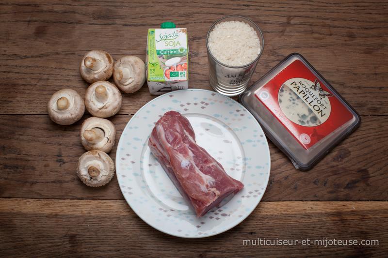Ingrédients pour la recette du filet mignon au multicuiseur