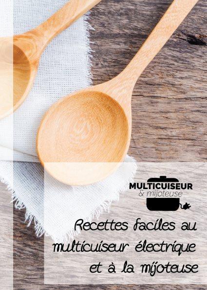 Livre recettes multicuiseur électrique