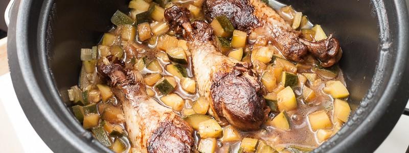 Multicuiseur : Pilons de poulets - sauce soja et balsamique