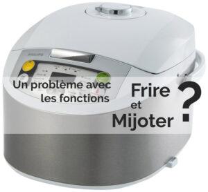 Défaut multicuiseur Philips