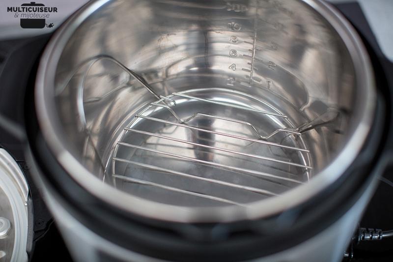 Cuve en INOX du multicuiseur